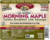 (08220) Morning Maple Turkey Breakfast Link Sausage