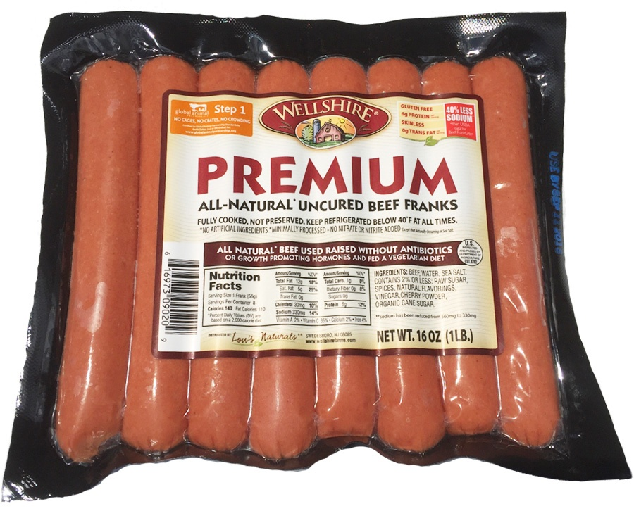 All Natural Beef Hot Dogs