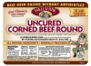 Uncured Corned Beef Round 09042