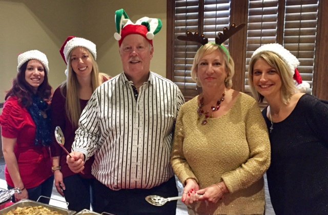 Wellshire Volunteers at Goodwill Annual Holiday Party