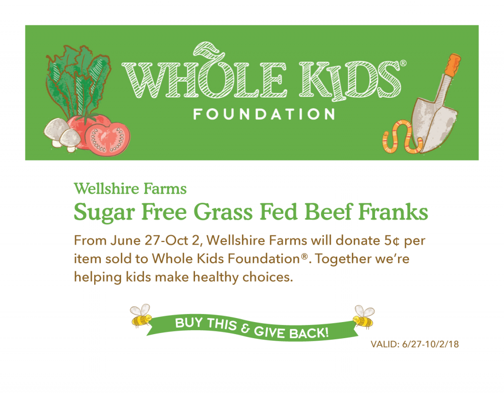 Wellshire Partners with Whole Kids Foundation