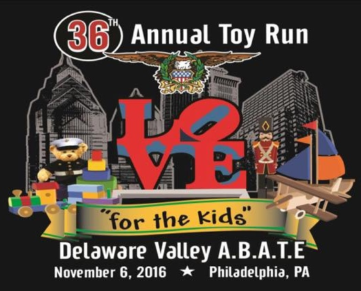 Delaware Valley A.B.A.T.E 36th Annual Toy Run